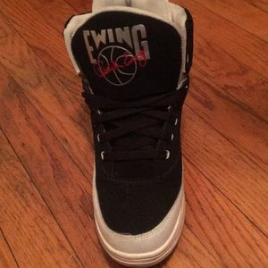 "Shoes - Patrick Ewing ""HI 33"" Red Black & White"